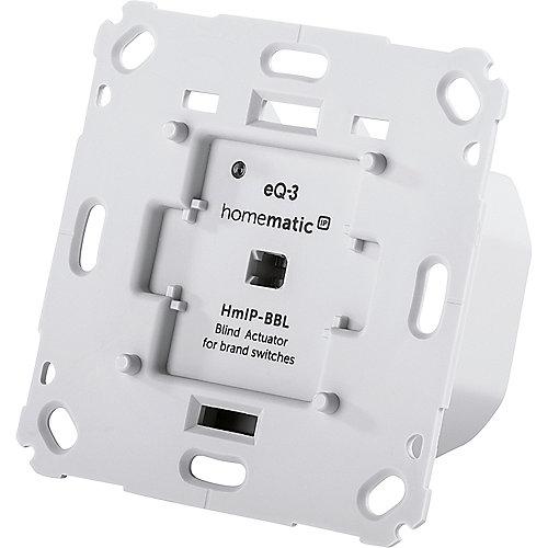 Homematic IP Jalousieaktor für Markenschalter - Unterputz HmIP-BBL