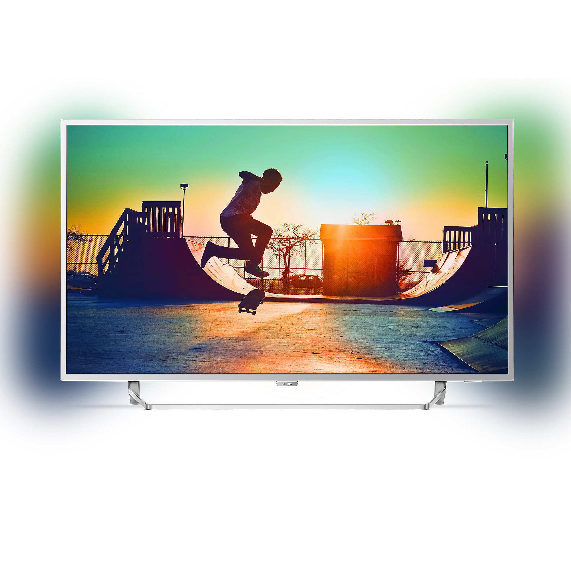 "Philips 43PUS6412 108cm 43"" 4K UHD DVB-T2HD/C/S2 900 PPI Ambilight Android TV"