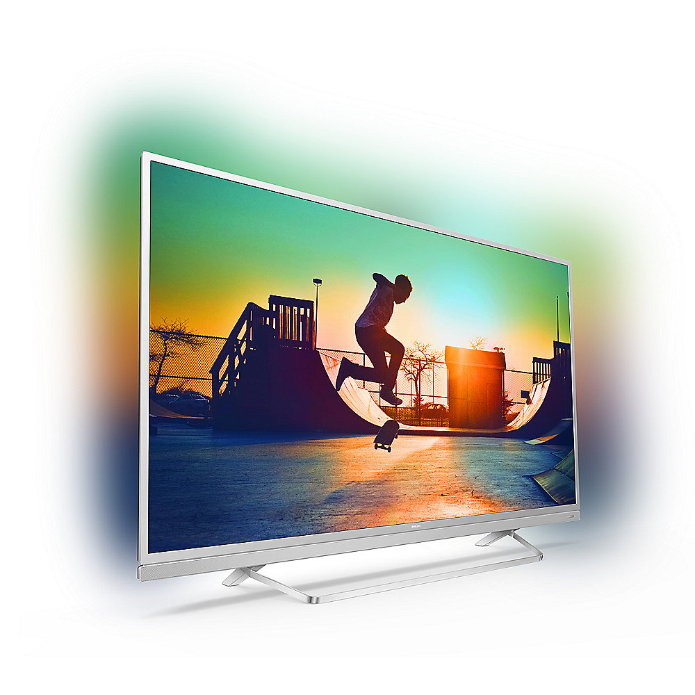 "Philips 49PUS6482 123cm 49"" 4K UHD DVB-T2HD/C/S2 1300 PPI Ambilight Android TV"