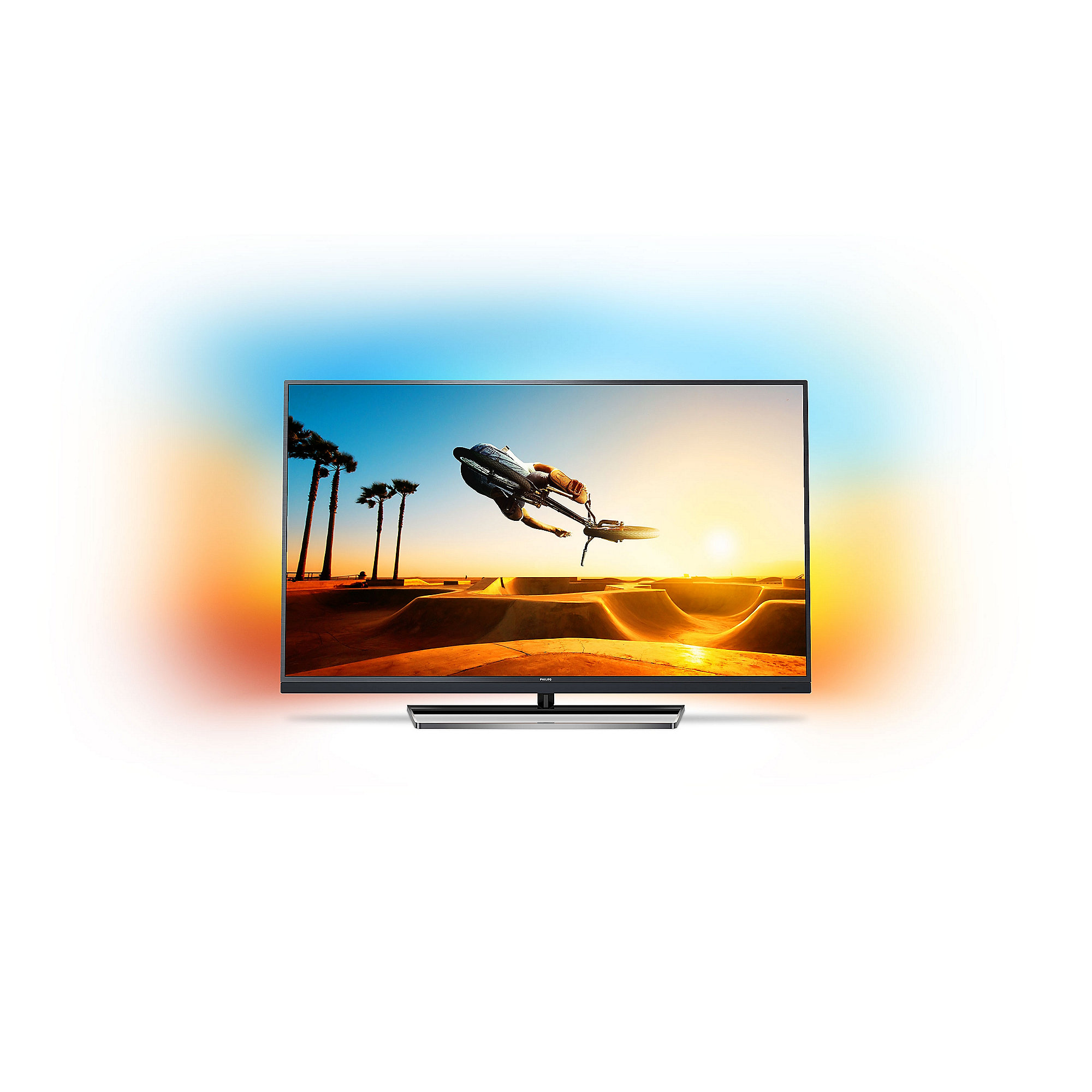 "Philips 49PUS7502 123cm 49"" 4K UHD DVB-T2HD/C/S 2200 PPI Ambilight Android TV"