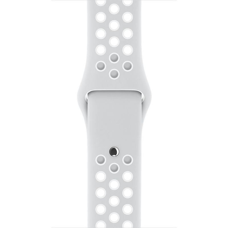 Apple Watch 42mm Nike Sportarmband Pure Platinum/Weiß - S/M und M/L - MQ2R2ZM/A
