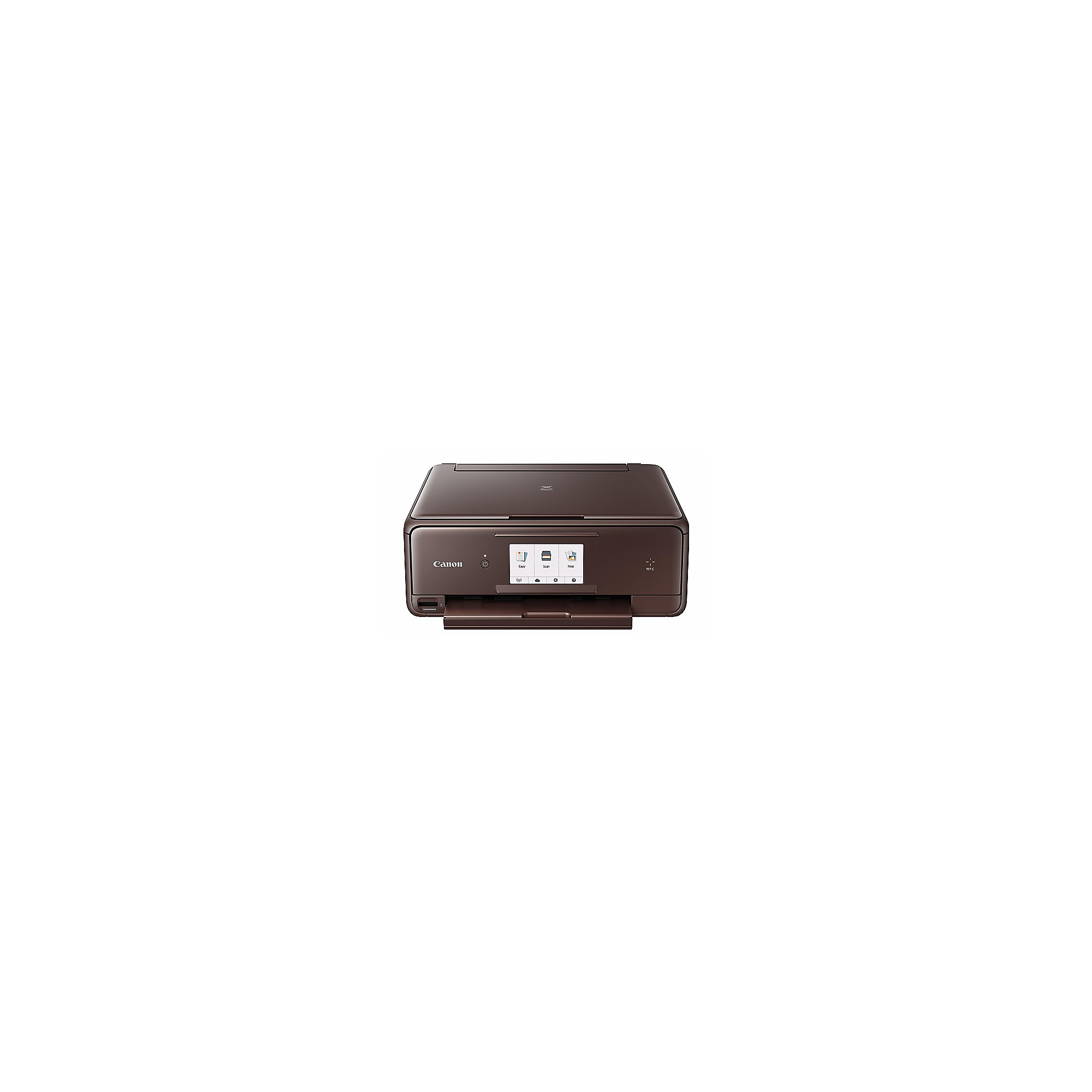 Canon PIXMA TS8053 brown Multifunktionsdrucker + CLI-571XL Value Pack 0332C005