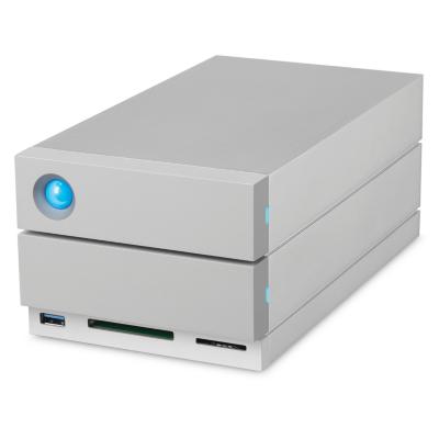 Lacie  2big Dock Thunderbolt 3 and USB-C 3.1 + Cardreader  – 12TB 3,5 Zoll 7200rpm | 3660619401888