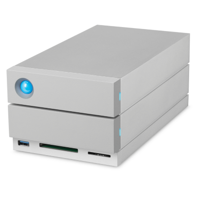 Lacie  2big Dock Thunderbolt 3 and USB-C 3.1 + Cardreader  – 16TB 3,5 Zoll 7200rpm | 3660619401895