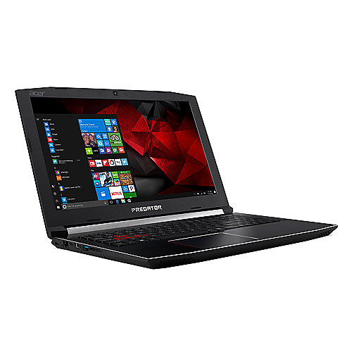 Acer Predator Helios 300 Notebook i7-7700HQ SSD matt FHD GTX1050Ti Windows 10 | 4713883258623