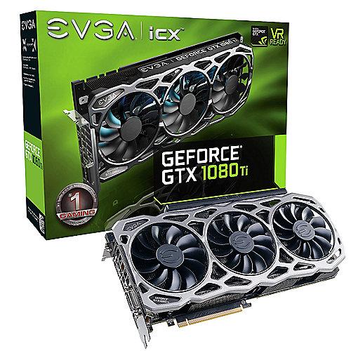 EVGA GeForce GTX 1080Ti FTW3 Gaming 11GB GDDR5X Grafikkarte DVI/HDMI/3xDP