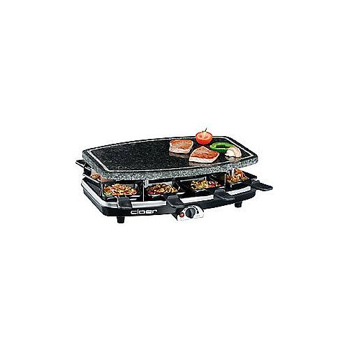Cloer 6430 Raclette-Grill mit Naturstein | 4004631009476