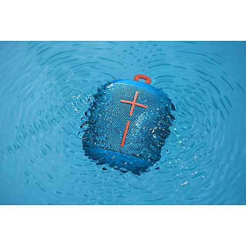 Wonderboom Bluetooth Speaker, blau, wasserdicht, mit Akku | 5099206070530