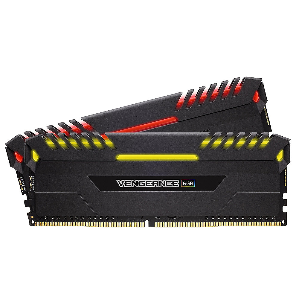 16GB (2x8GB) Corsair Vengeance RGB DDR4-3000 RAM CL15 (15-17-17-35) Kit