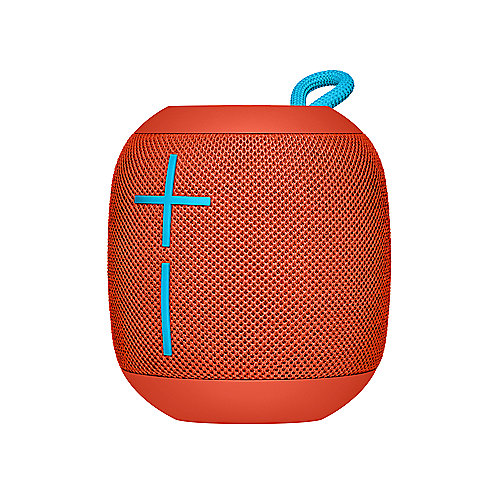 Ultimate Ears Wonderboom Bluetooth Speaker, rot, wasserdicht, mit Akku