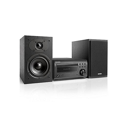 D-M41DAB FM/DAB/CD Receiver, Bluetooth, inkl. Lautsprecher, Schwarz/Schw.   4951035061176