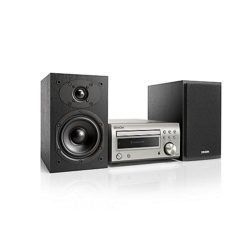 D-M41DAB FM/DAB/CD Receiver, Bluetooth, inkl. Lautsprecher, Silber/Schwarz   4951035061183