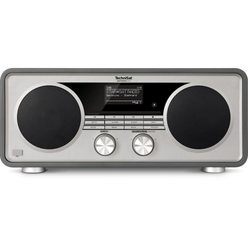 TechniSat DigitRadio 600, UKW/DAB+/WLAN Multiroom CD-Player Bluetooth anthrazit