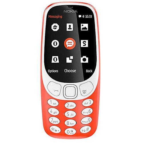 .Nokia 3310 (2017) Dual-SIM rot