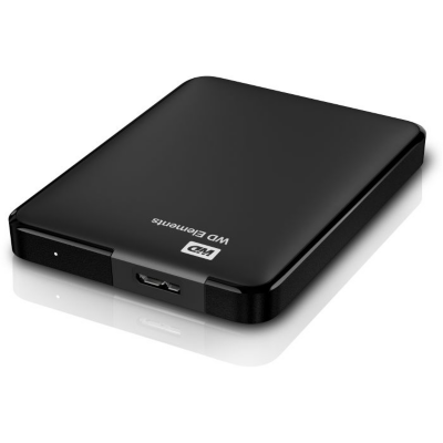 Western Digital WD Elements Portable USB3.0 500GB 2.5zoll Black   0718037855400