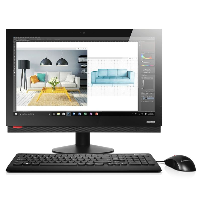 "Lenovo ThinkCentre M910z 10NR0012GE - i5-7500vPro 23"" Touch 8GB/256GB SSD W10P"