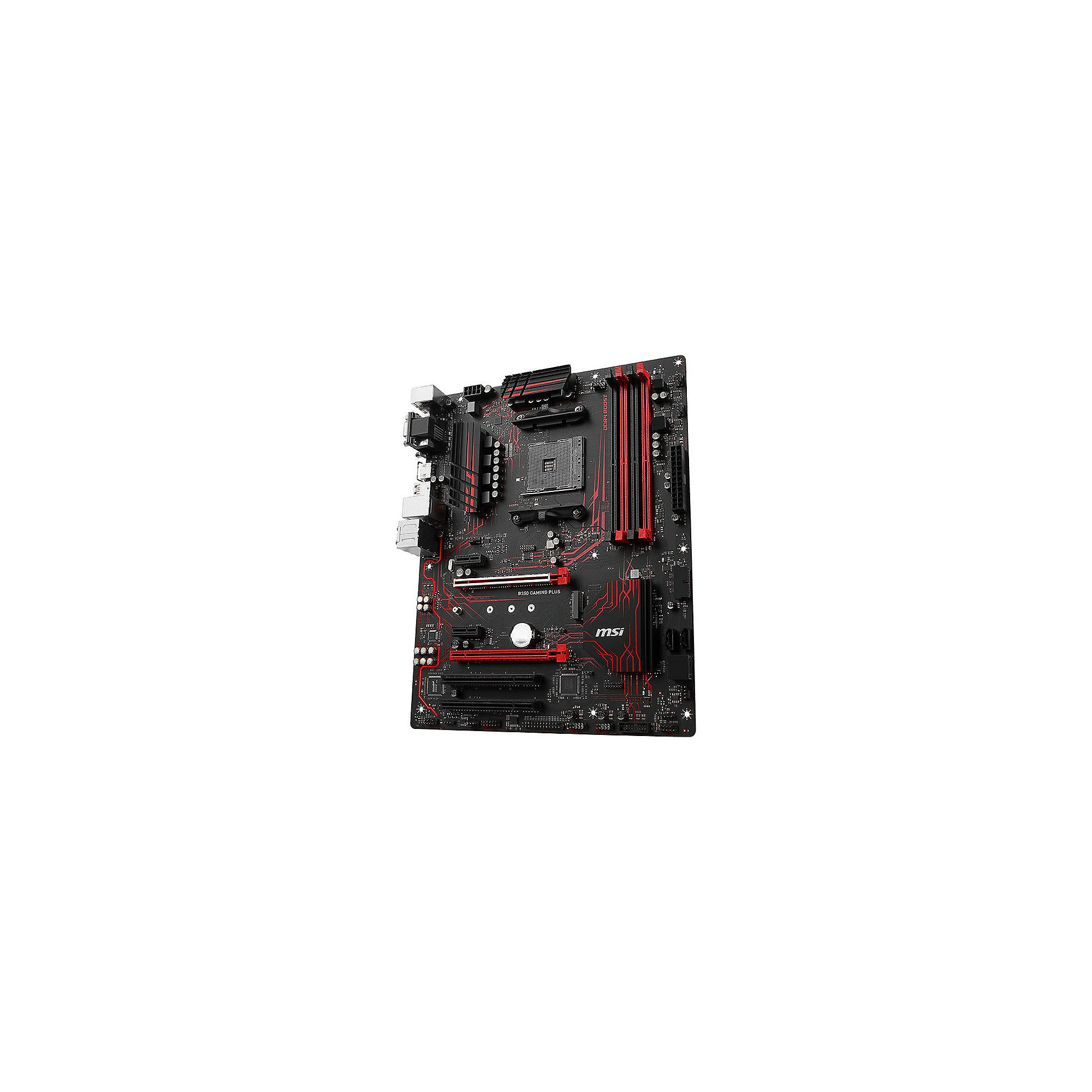 MSI B350 Gaming Plus SATA600/VGA/DVI/HDMI/M.2 ATX Mainboard Sockel AM4