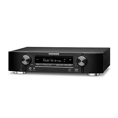 Marantz NR1508 5.2 AV Receiver 4K AirPlay WLAN Bluetooth Spotify Heos - Schwarz