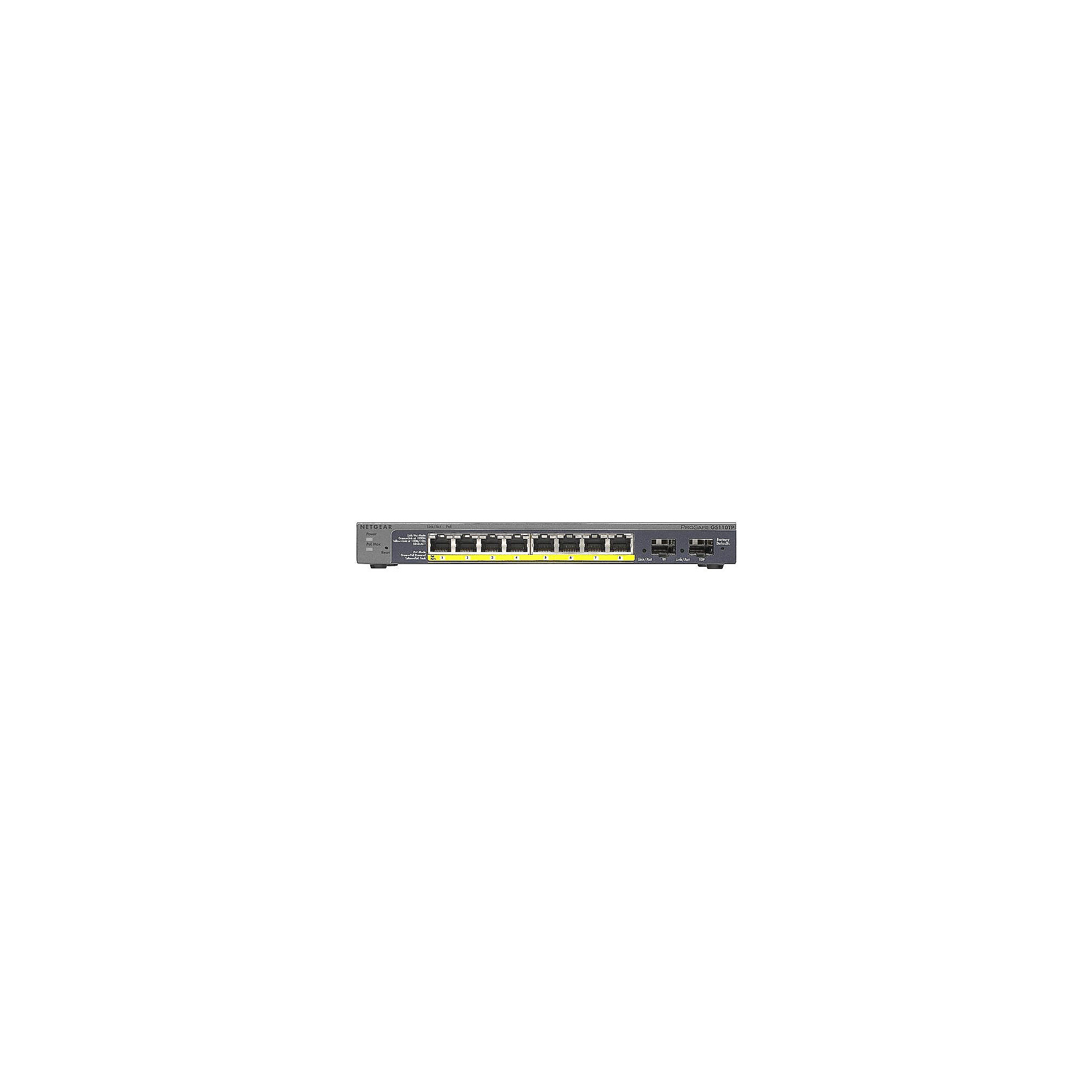 Netgear GS110TPv2 8 Port Gigabit Ethernet Smart Switch