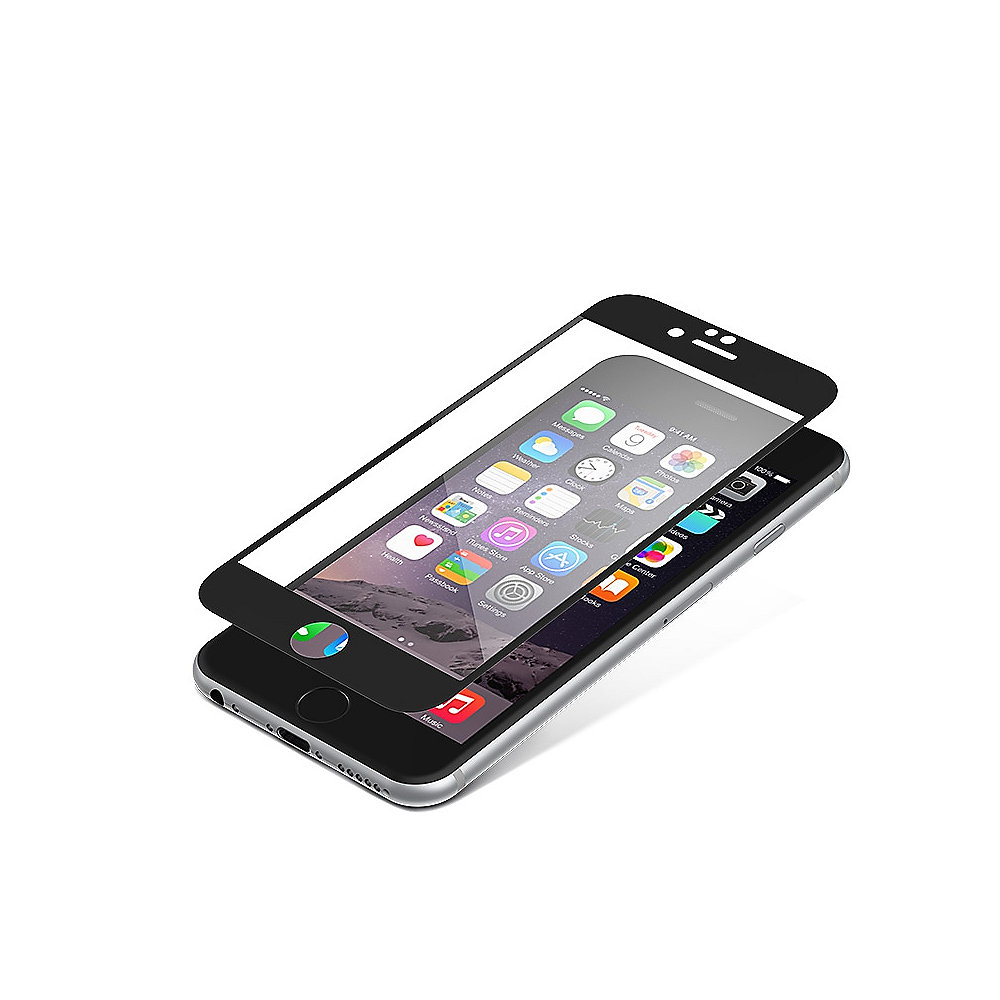ZAGG InvisibleSHIELD Glass Contour für Apple iPhone 6/6, weiß