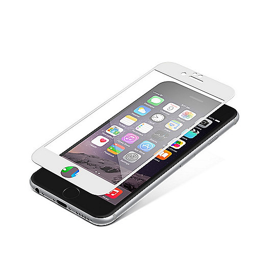 ZAGG InvisibleSHIELD Contour Glass für Apple iPhone 6/6, schwarz