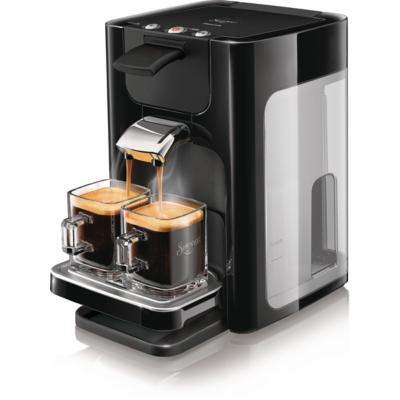 Philips Senseo Quadrante HD7865/60 Padmaschine mit Kaffee-Boost schwarz