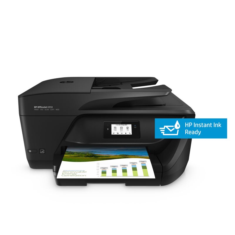 HP OfficeJet 6950 Multifunktionsdrucker Scanner Kopierer Fax WLAN