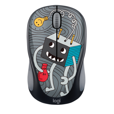 Logitech  M238 Kabellose Mobile Maus Doodle Collection LIGHTBULB 910-005049 | 5099206071452
