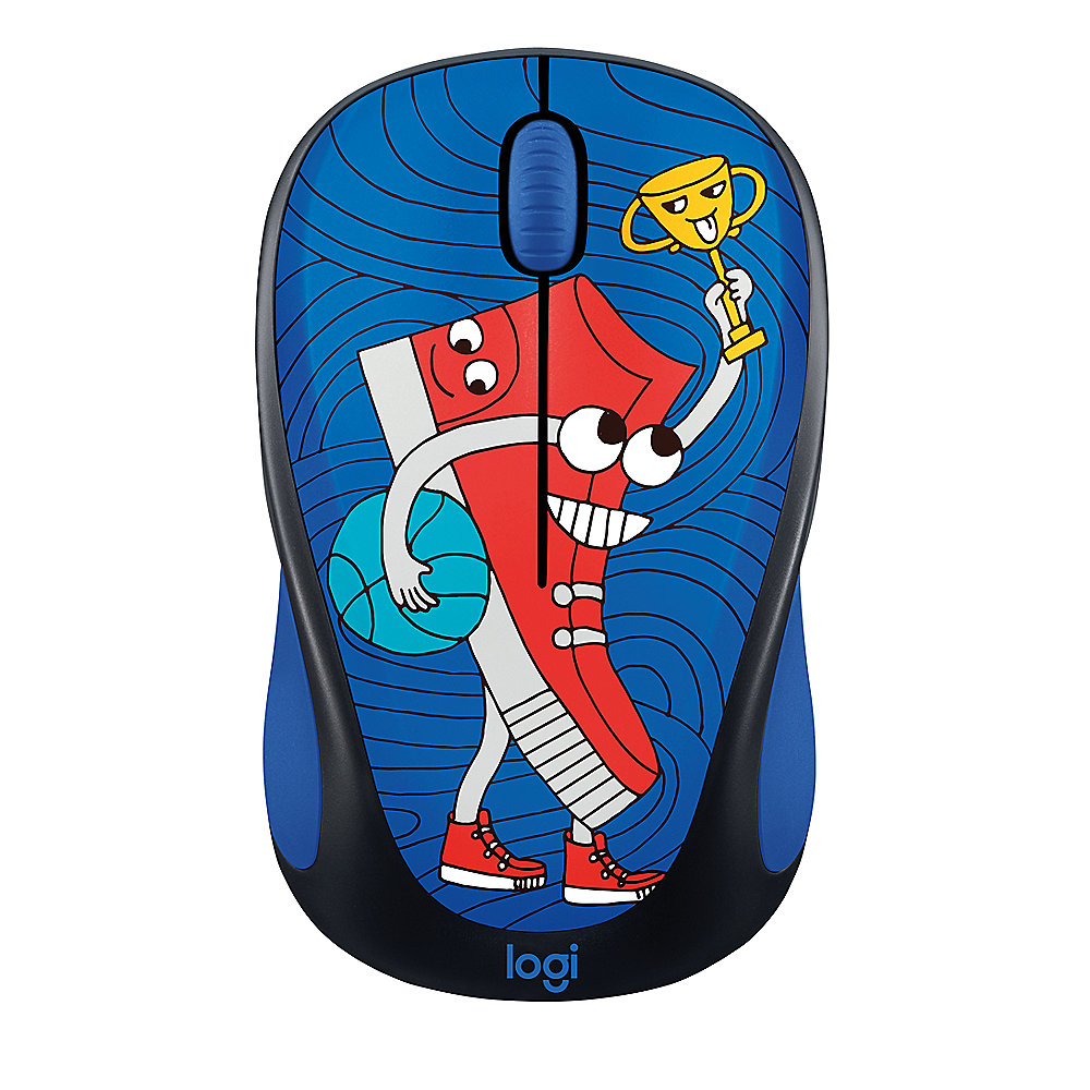 Logitech Wireless Mouse M238 Doodle Collection SNEAKER HEAD