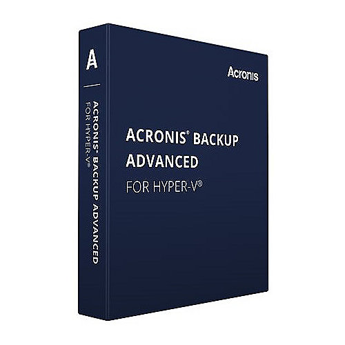 *Acronis Backup & Recovery 11.5 Virtual Edt. for Hyper-V inkl. UR St.1