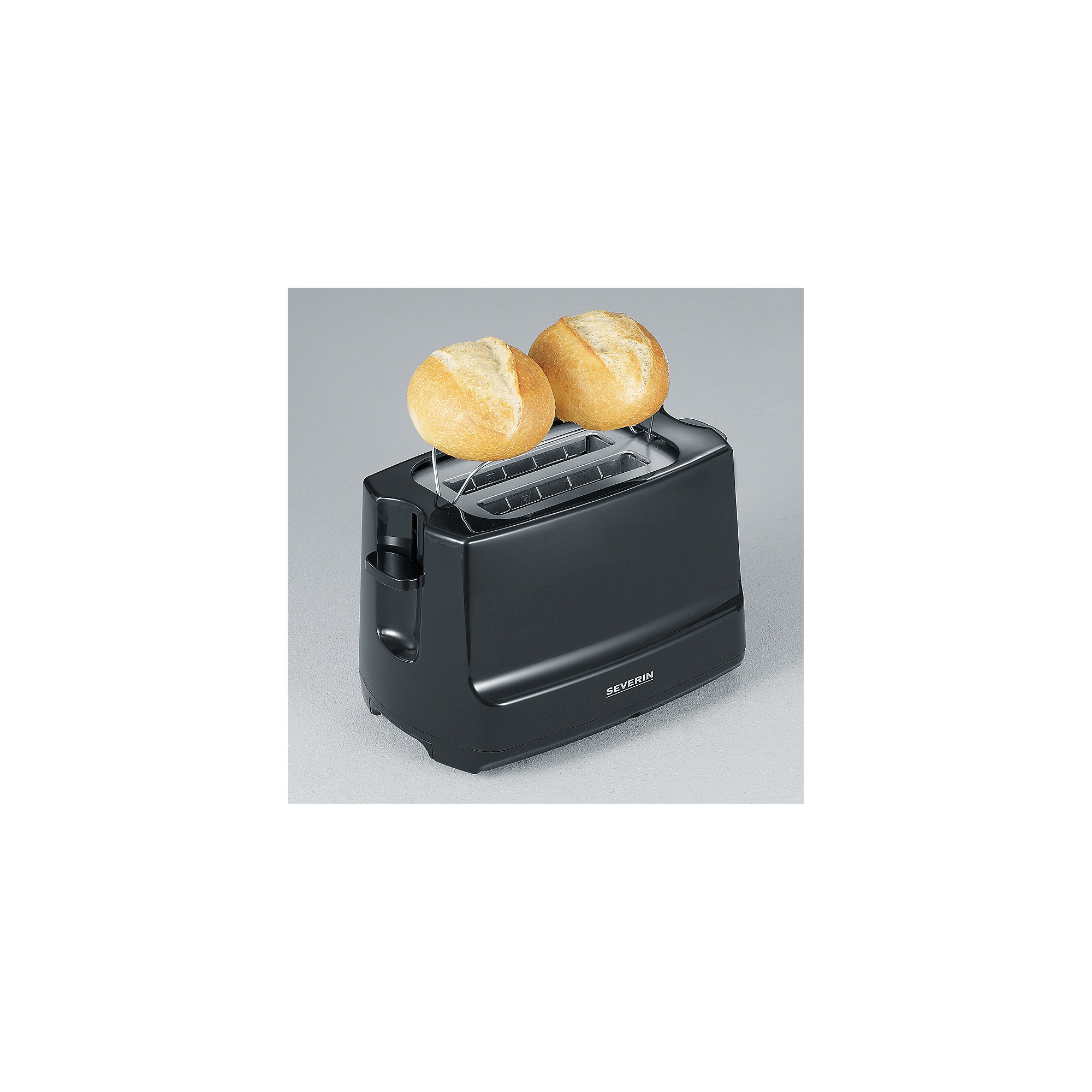 Severin AT 2281 Automatik Toaster schwarz