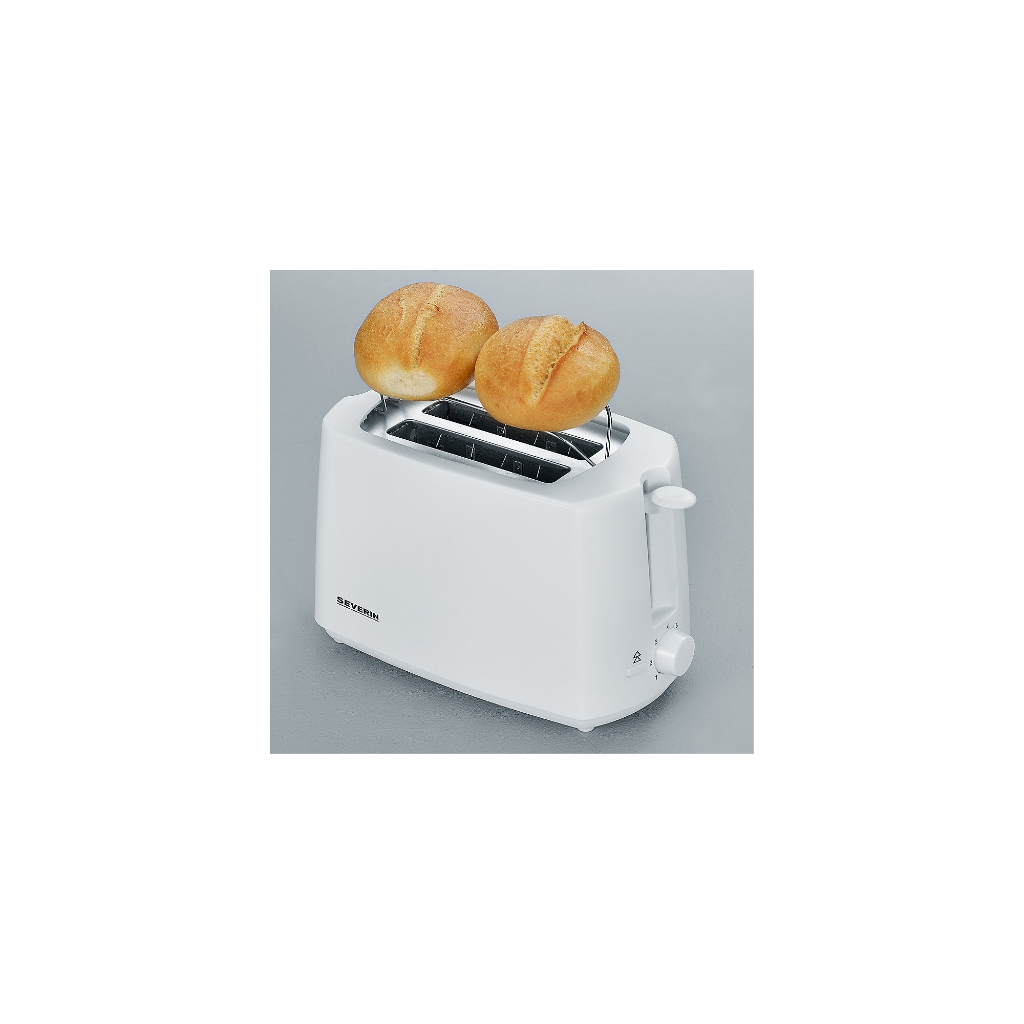 Severin AT 2288 Automatik Toaster weiß