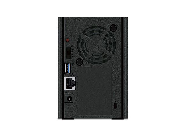 Buffalo LinkStation 520D NAS System 2-Bay Leergehäuse