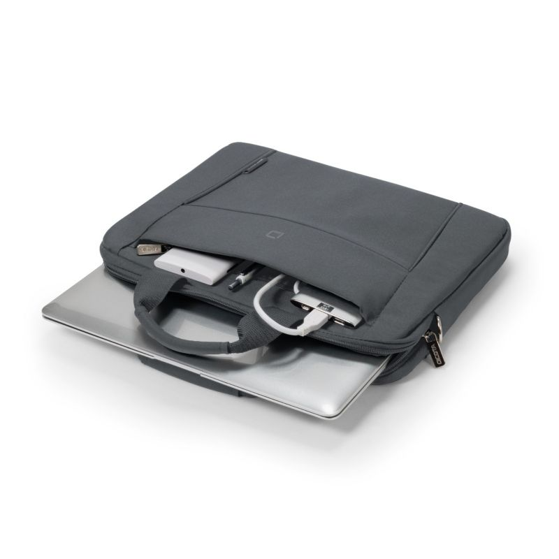 "Dicota Slim Case BASE Notebooktasche 39,62cm (15""-15,6"") grau"