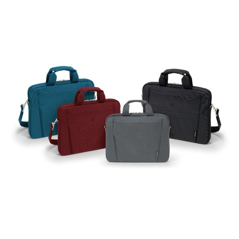 "Dicota Slim Case BASE Notebooktasche 31,75cm (11""-12,5"") rot"