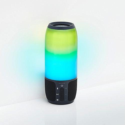 Lautsprecher Mit Led Beleuchtung   Jbl Pulse 3 Bluetooth Lautsprecher Led Beleuchtung Schwarz