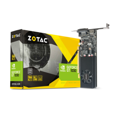 Zotac GeForce GT 1030 2GB GDDR5 Grafikkarte Low Profile DVI HDMI