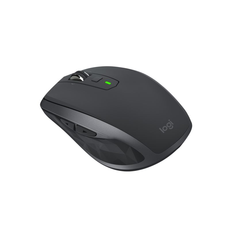 Logitech MX Anywhere 2S Kabellose mobile Maus Bluetooth/Flow Grafit