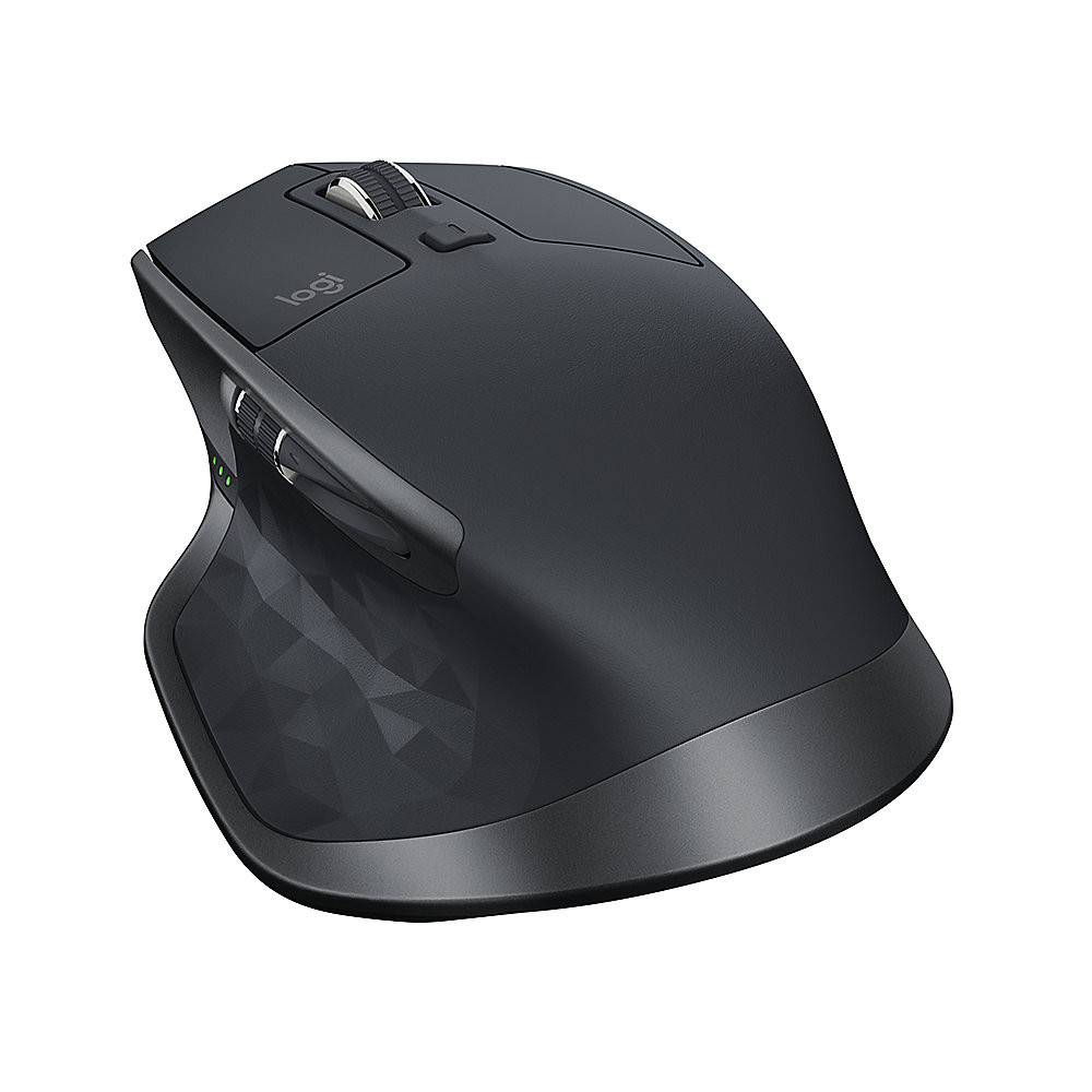 Logitech MX Master 2S Kabellose Maus PC/Mac Bluetooth Grafit 910 ...