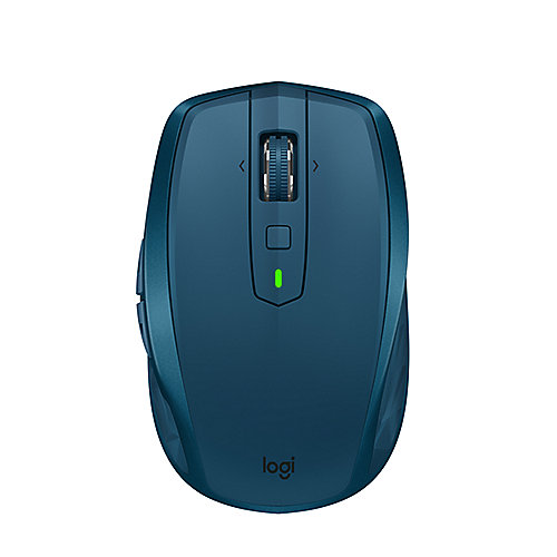 Logitech MX Anywhere 2S Kabellose mobile Maus Bluetooth/Flow Midnight Teal
