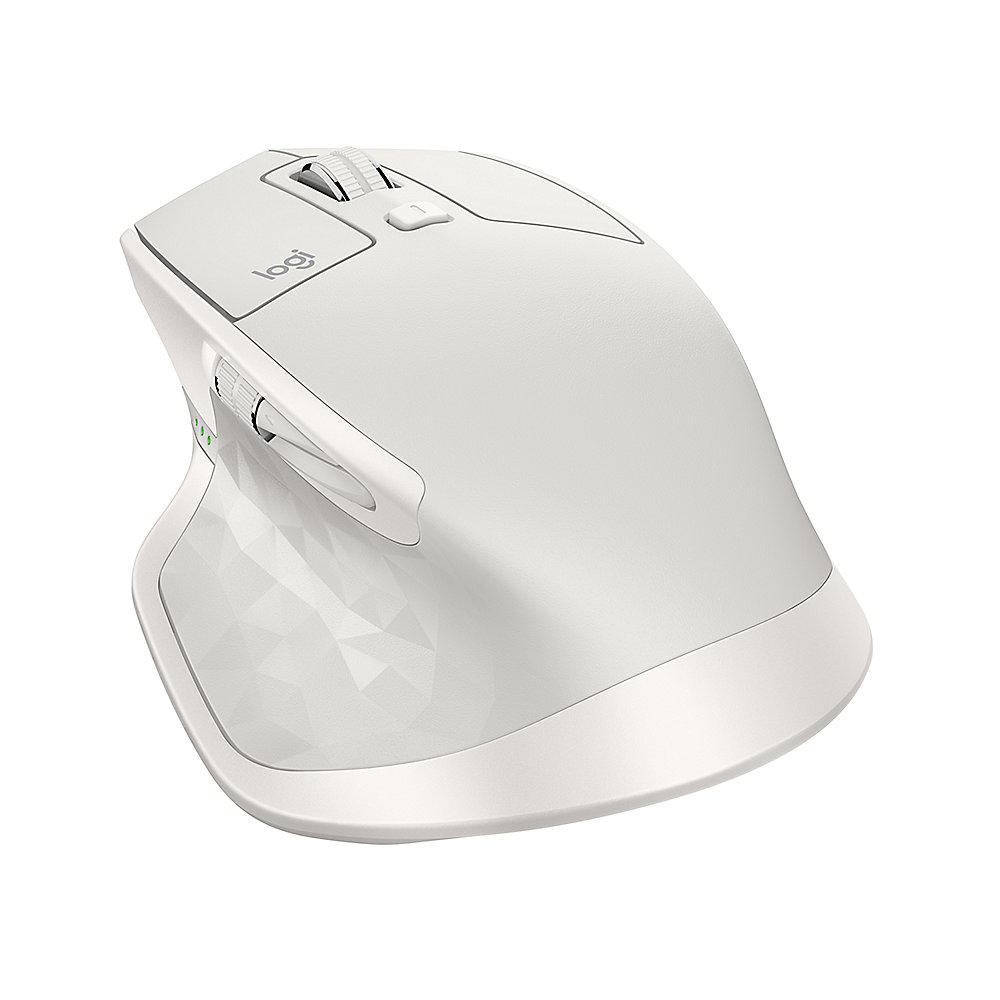 Logitech MX Master Kabellose Maus PC/Mac Bluetooth/ Unifying Hellgrau