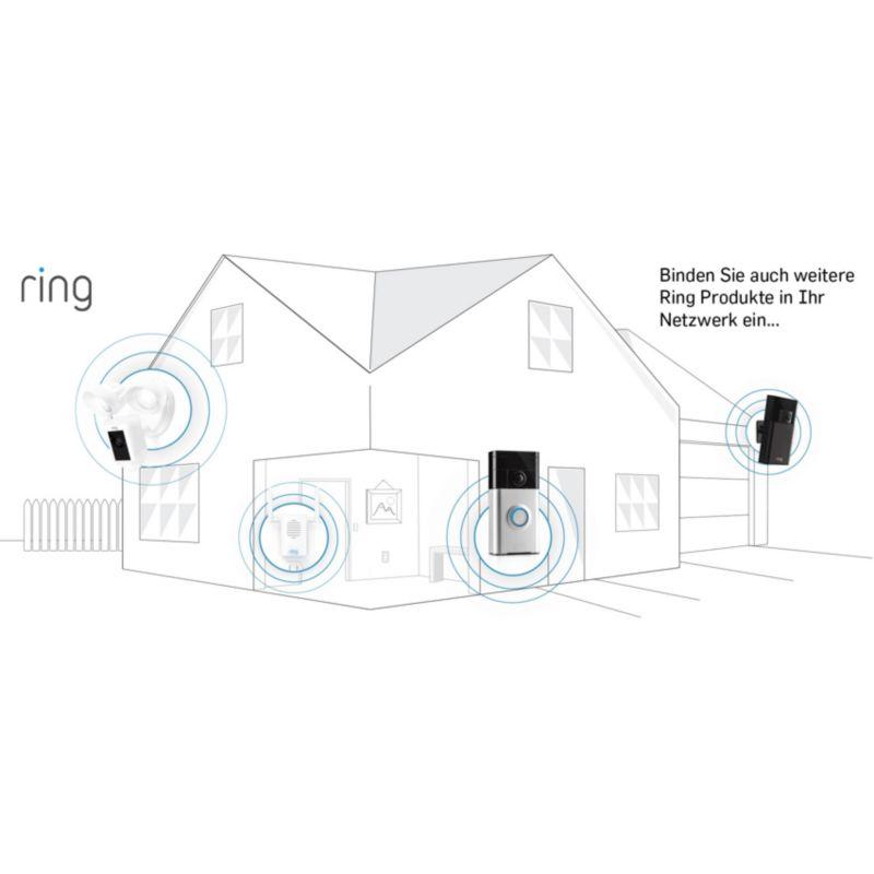 ring video t rklingel pro inkl chime gong transformer. Black Bedroom Furniture Sets. Home Design Ideas