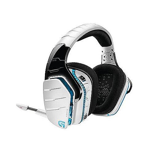 Logitech G933 Artemis Spectrum Kabelloses 7.1 Gaming Headset Snow Edition Weiß | 5099206065758