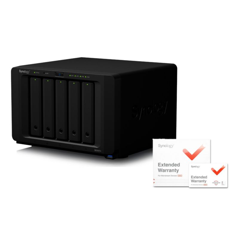 Synology Diskstation DS1517+-8G NAS System 5-Bay - 5 Jahre Garantie