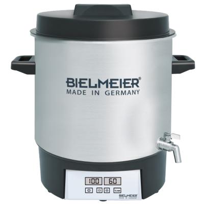 Bielmeier  BHG 411.1 Einkoch-Vollautomat Edelstahl mit Auslaufhahn 27Liter   4035161411101
