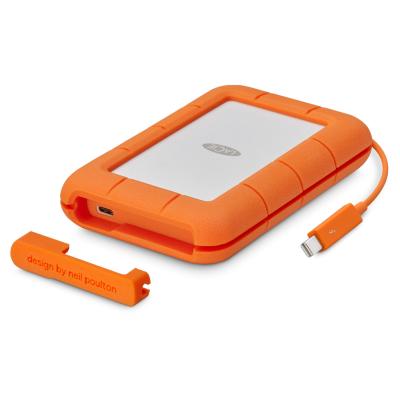 Lacie  Rugged Thunderbolt / USB-C 3.0 2TB HDD 2.5 Zoll – nur für MAC OS   3660619400430