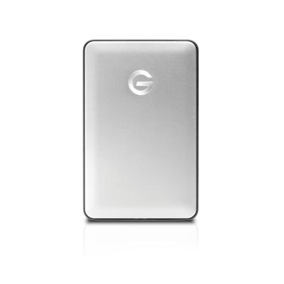 G-Technology  G-DRIVE Mobile 1TB USB-C 3.1 Gen1 2,5zoll 7200rpm silber | 0705487202014
