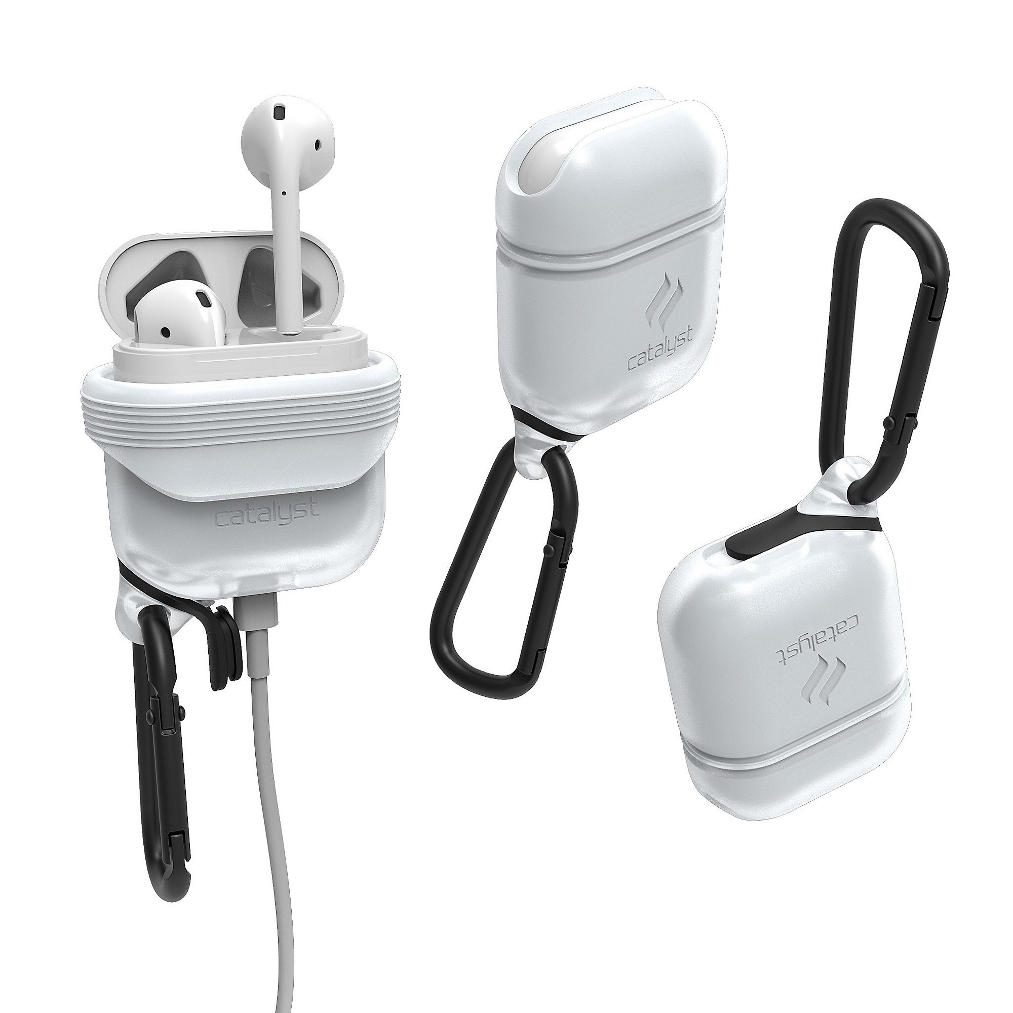 Catalyst AirPods Wasserdichtes Case Frost White
