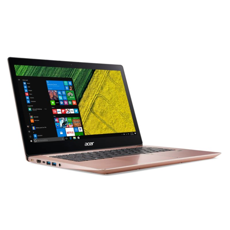 "Acer Swift 3 SF314-52-52L7 pink i5-7200U 8GB/256GB PCIe SSD 14"" FHD W10"