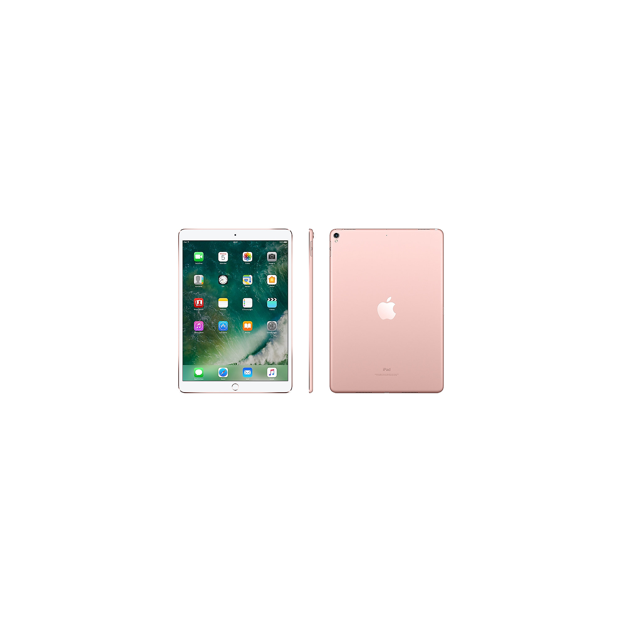 "Apple iPad Pro 10,5"" 2017 Wi-Fi + Cellular 64 GB Roségold MQF22FD/A"